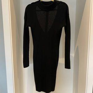 Black knit dress NWOT